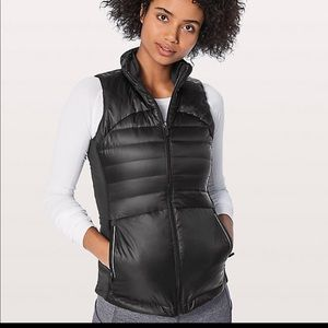 NWT Lululemon Down For A Run Vest II Size 4